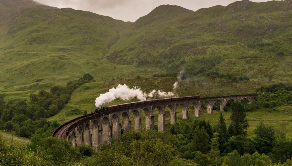 Scozia: il viadotto ferroviario di Glenfinnan