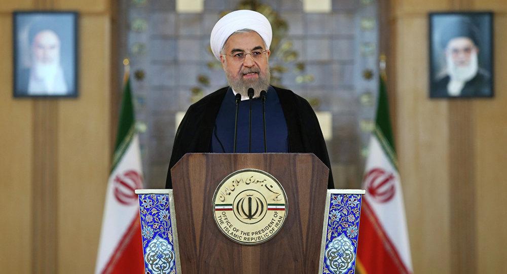 Presidente iraniano Hassan Rohani
