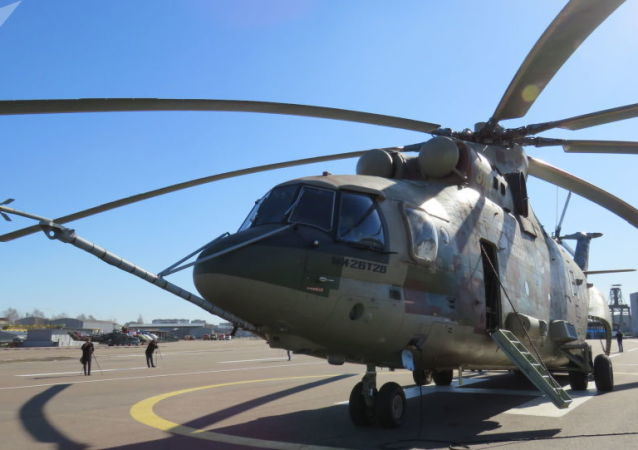 L'elicottero Mi-26-T2V