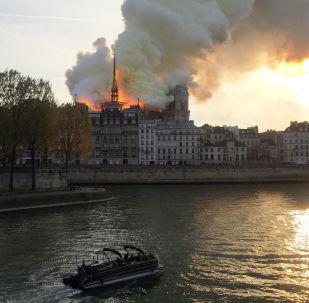 Incendio nella Cattedrale Notre-Dame di Parigi
