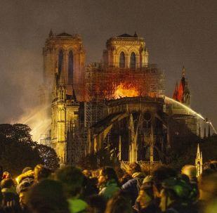 Incendio alla Cattedrale di Notre-Dame a Parigi