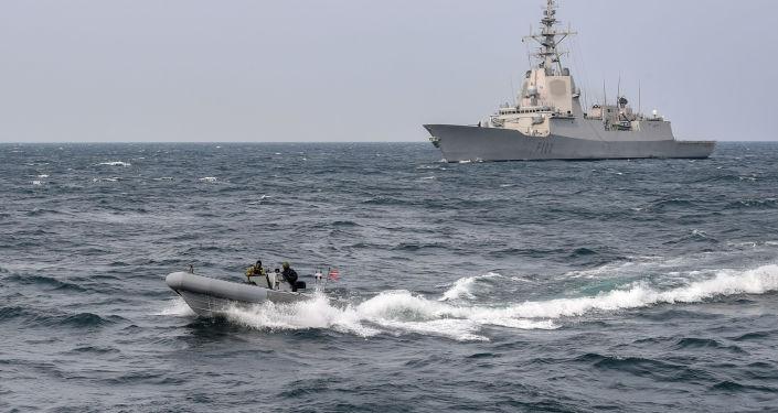 L'USS Gravely