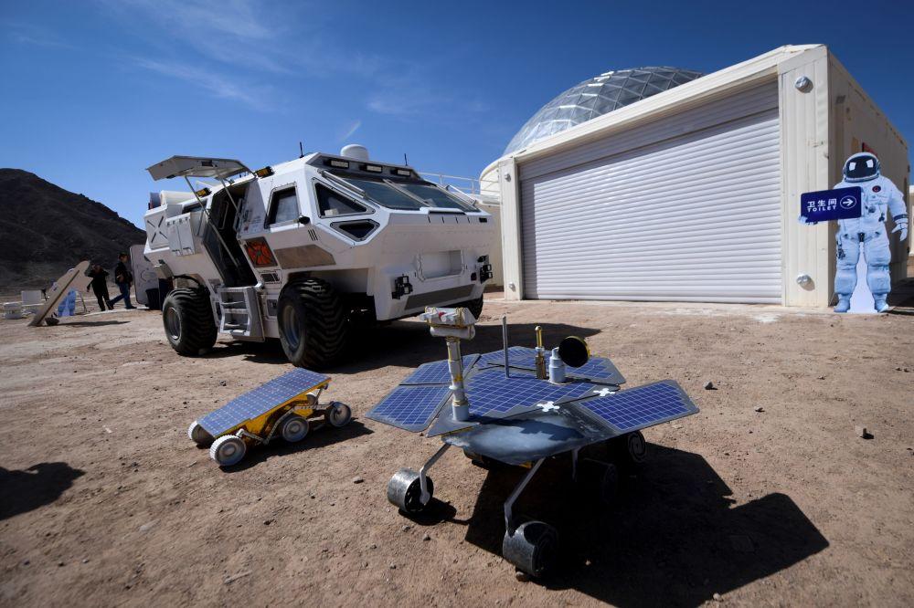 Alcuni modelli di rover marziani