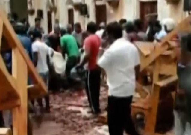 Le esplosioni in Sri Lanka