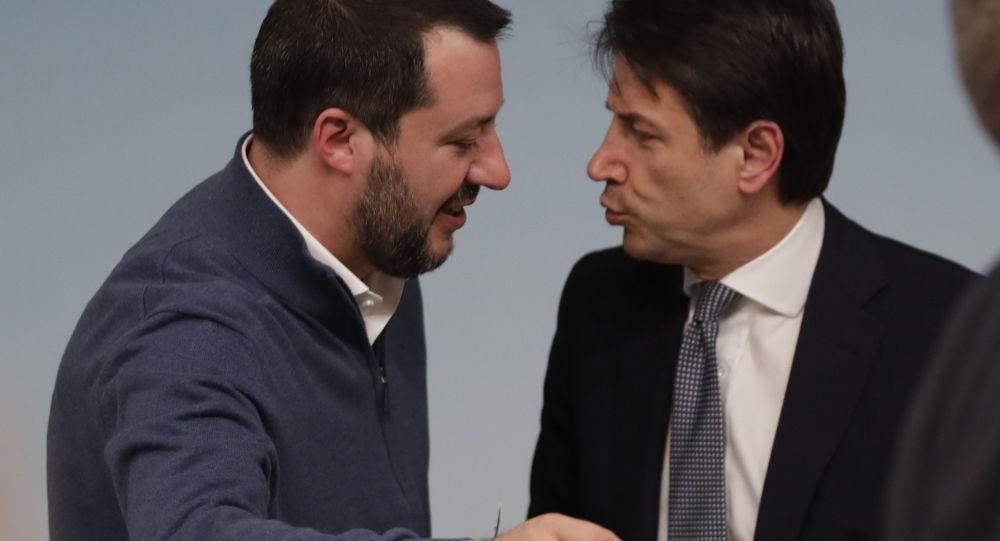 Matteo Salvini e Giuseppe Conte