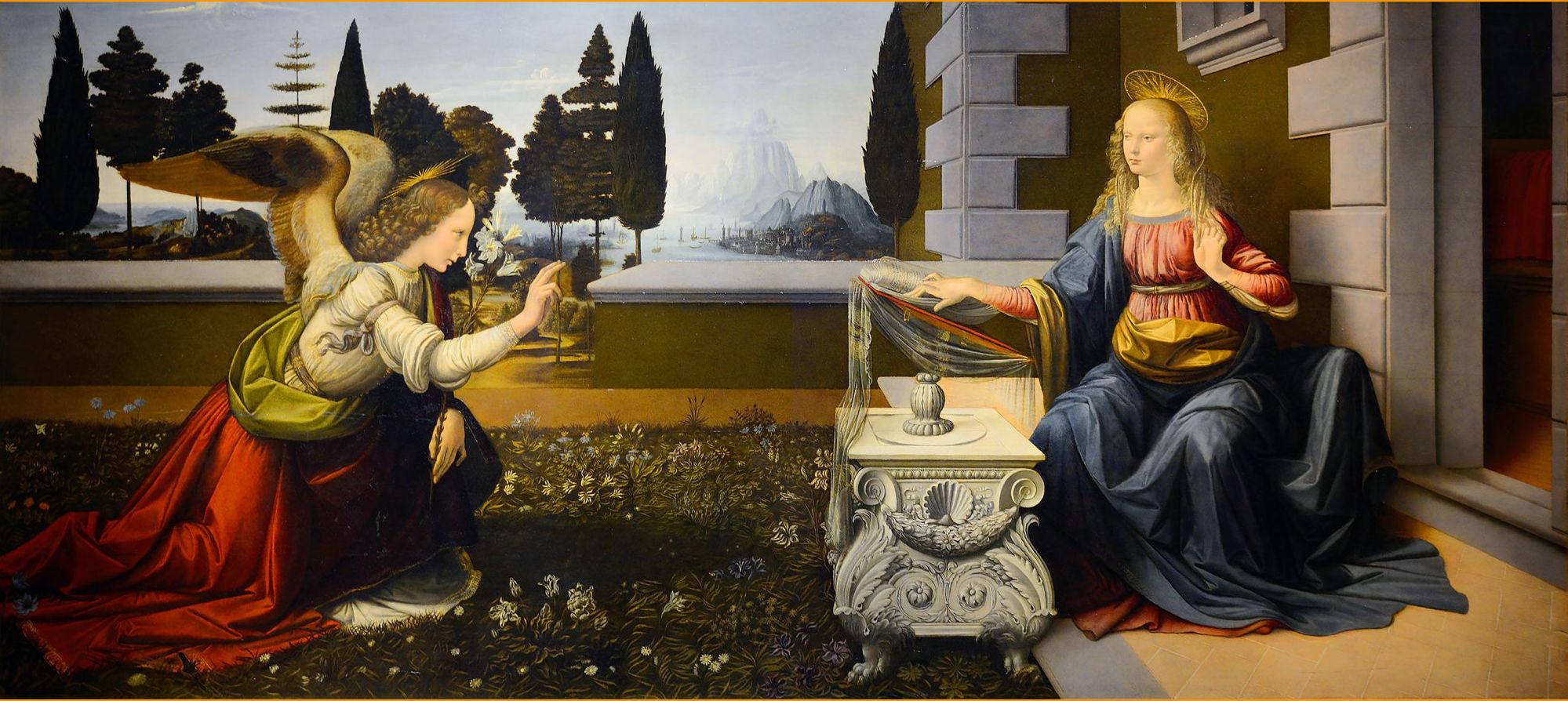 Annunciazione - Galleria degli Uffizi di Firenze