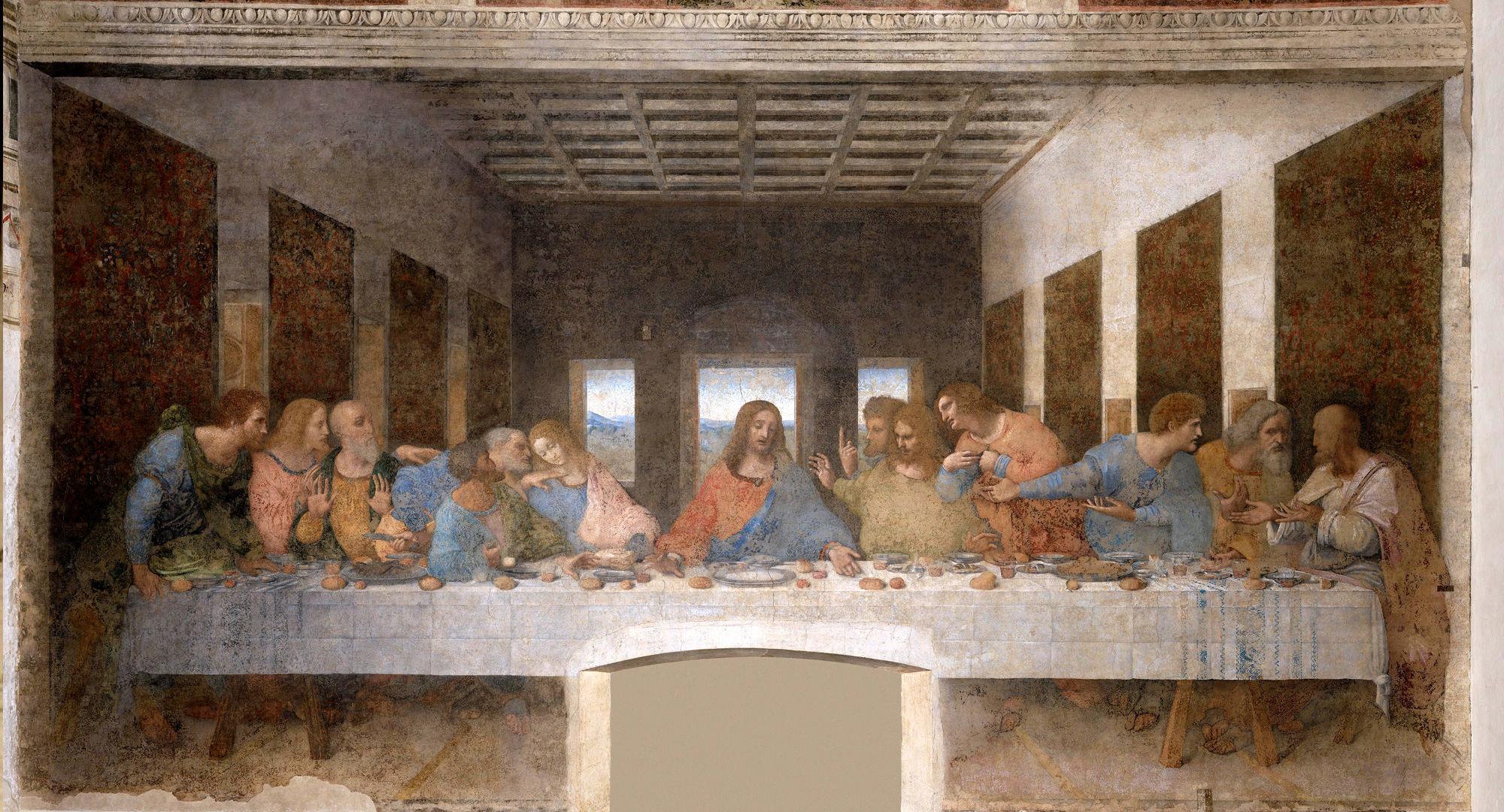 Cenacolo - ex-refettorio convento di Santa Maria delle Grazie, Milano