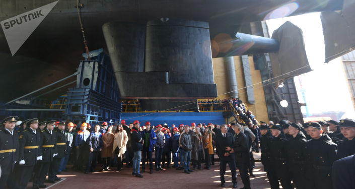 Il sottomarino russo Belgorod