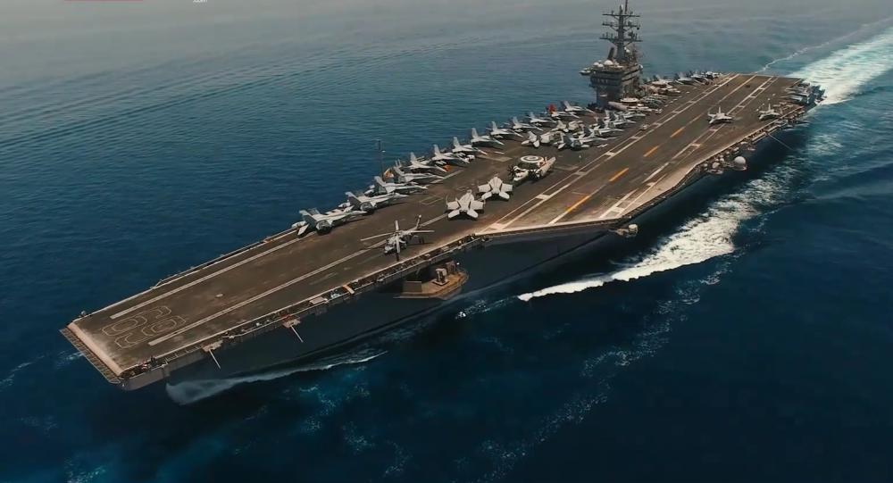 Drone iraniano è riuscito a perlustrare portaerei americana nel Golfo Persico