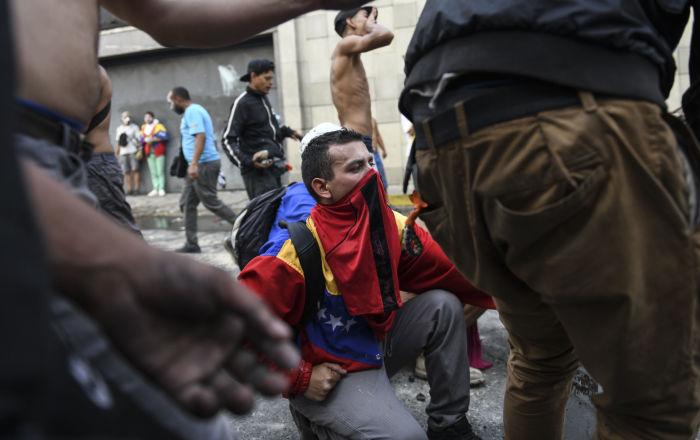 Disordini in Venezuela