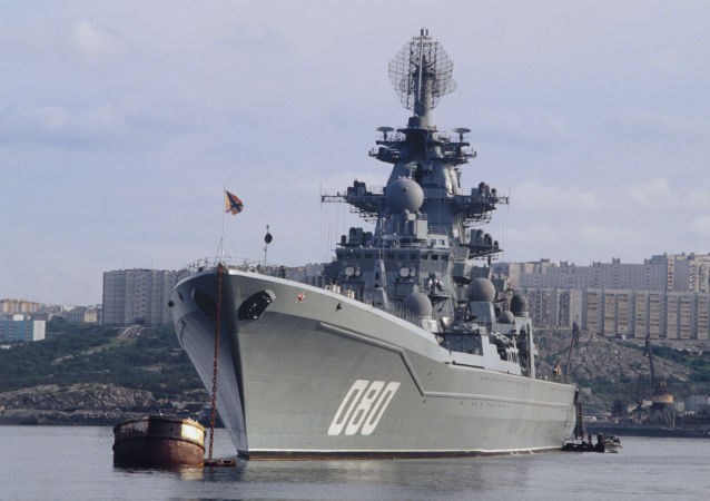 L'incrociatore nucleare russo Admiral Nakhimov