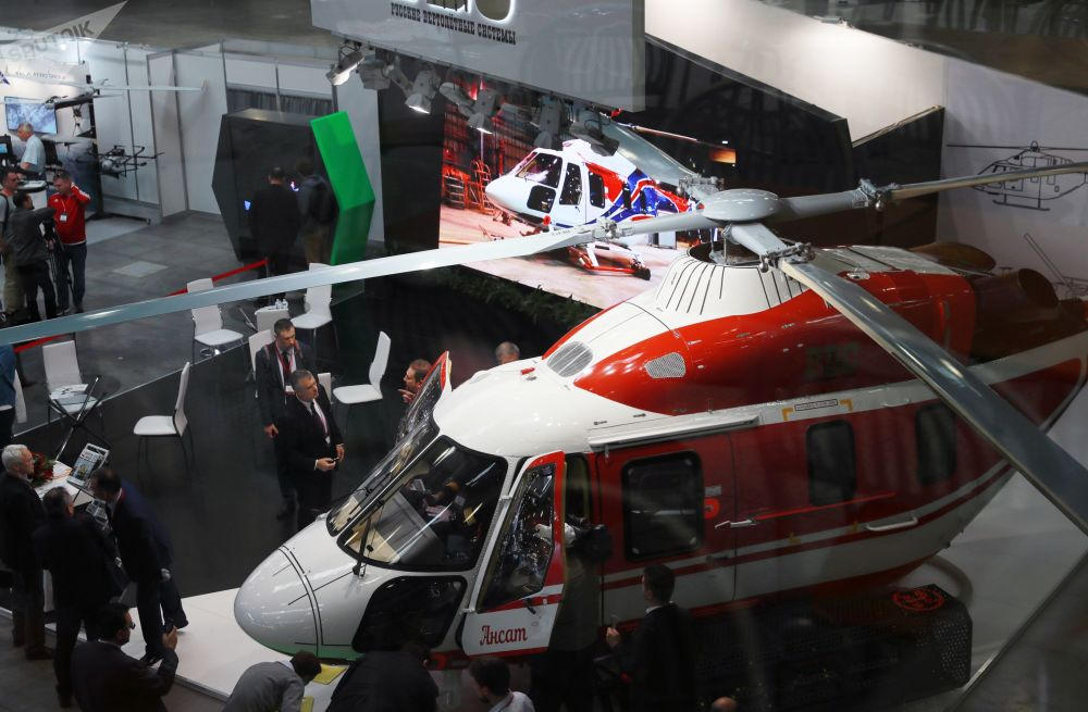 L'elicottero leggero multifunzionale 7-9 posti Ansat
