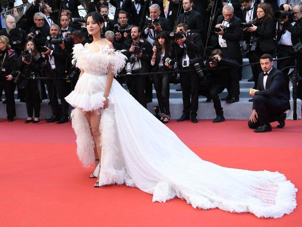 L'attrice Xin Zhilei di Hong Kong.