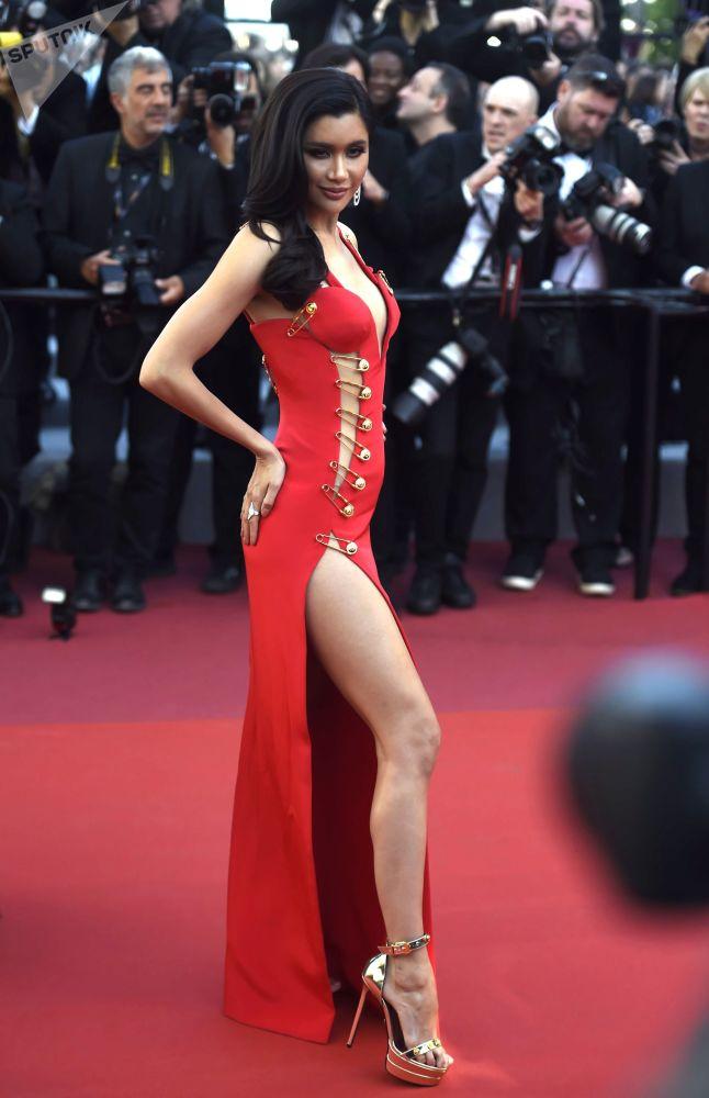 L'attrice Praya Lundberg.