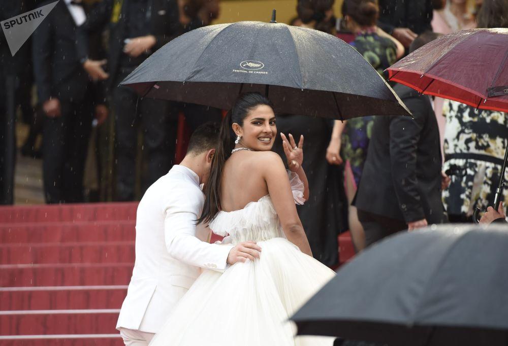 L'attrice e produttrice indiana Priyanka Chopra.