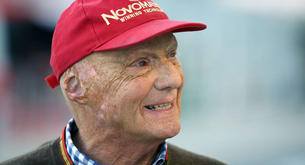Pilota F1 austriaco Niki Lauda