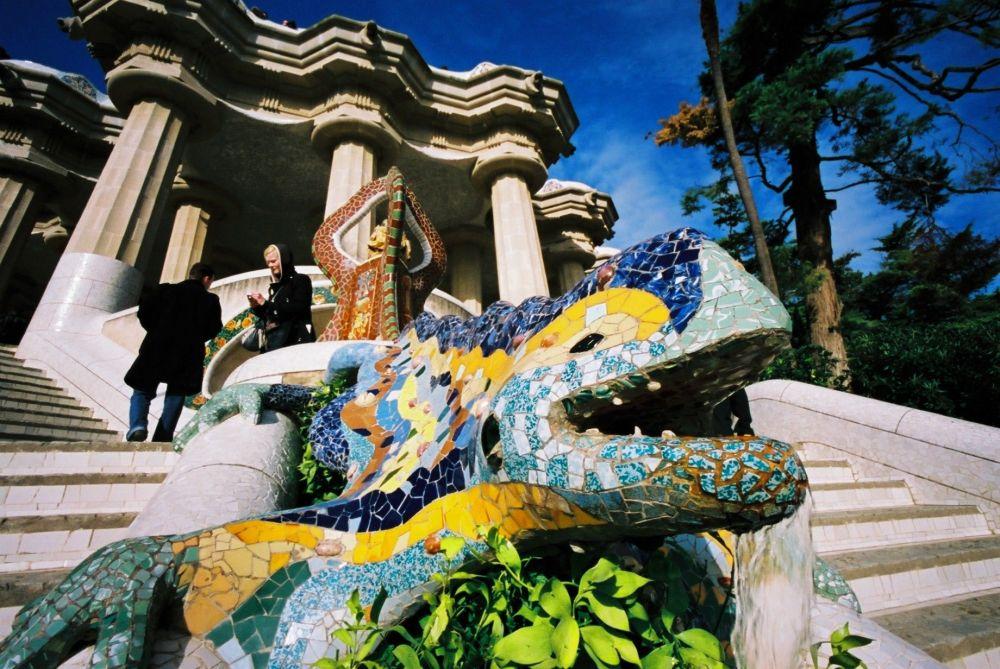 Il Parc Guell di Barcelona