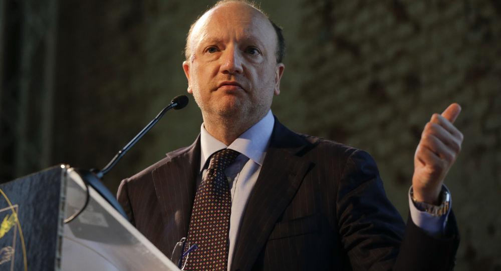 Il presidente di Confindustria, Vincenzo Boccia
