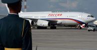 L'Ilyushin IL-96 del presidente russo Vladimir Putin