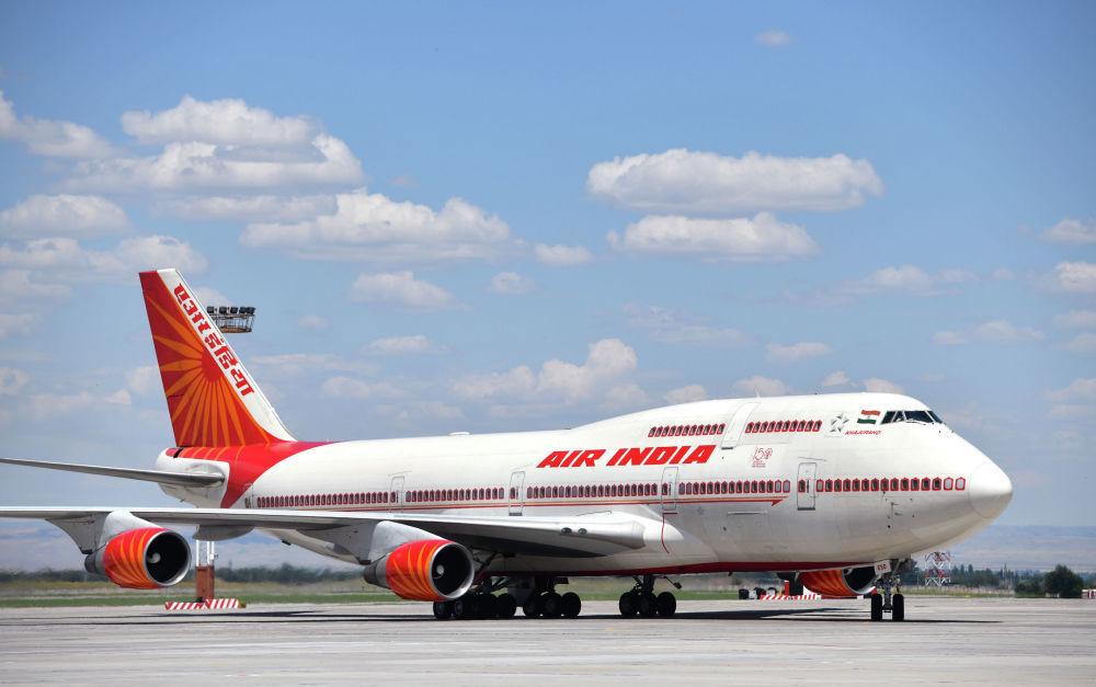 Il Boeing 747-400 del presidente indiano Narendra Modi
