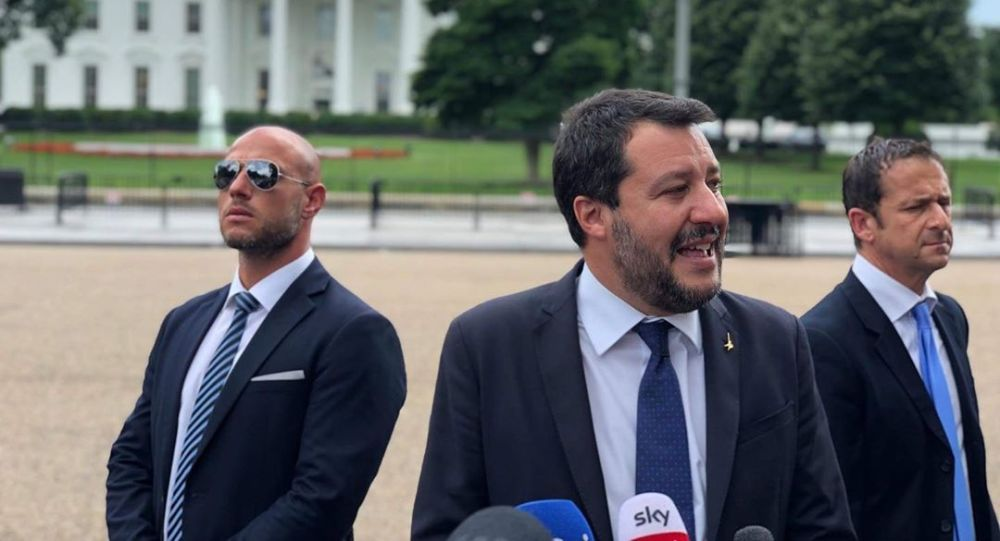 Matteo Salvini in visita negli Stati Uniti