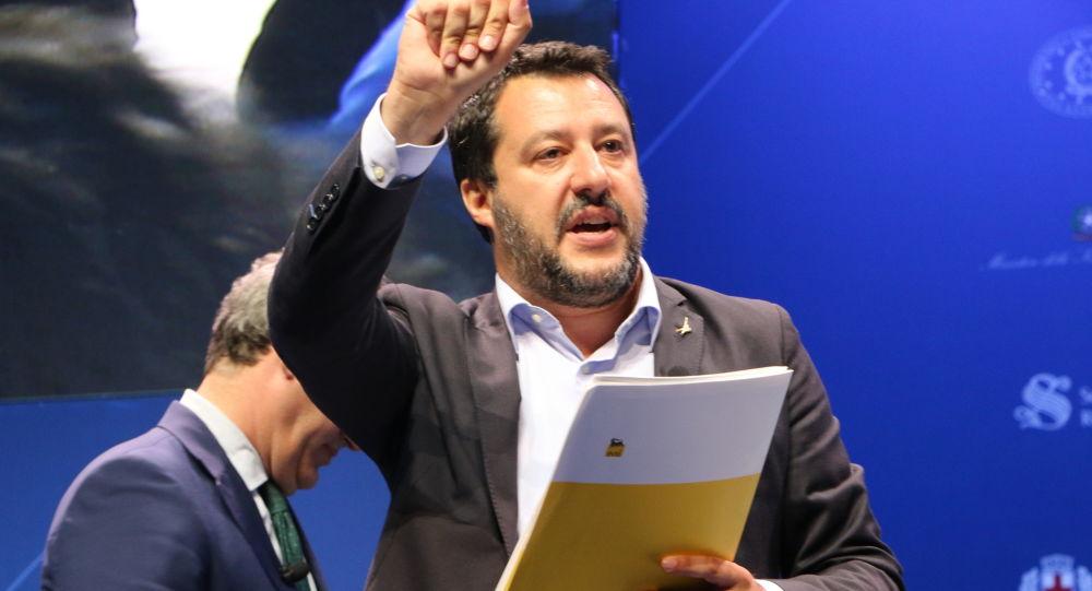 Matteo Salvini (foto d'archivio)