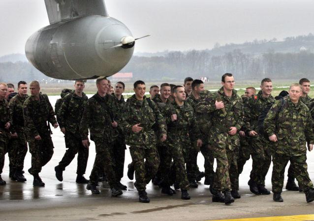 Militari britannici in Bosnia ed Erzegovina (foto d'archivio)