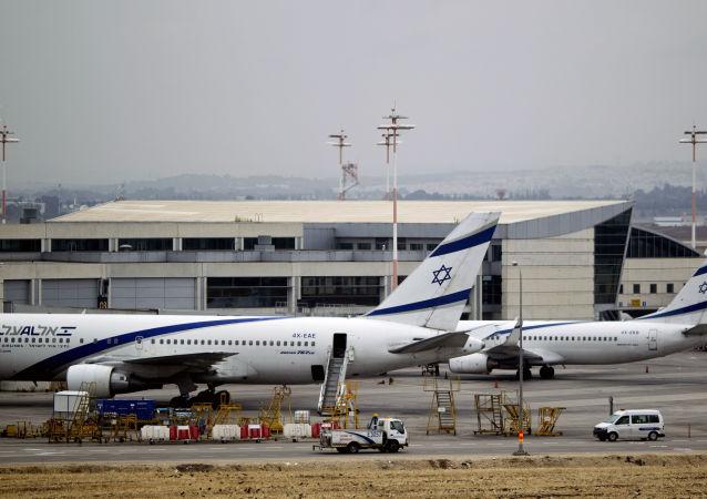 Aerei di compagnie aeree israeliane (foto d'archivio)