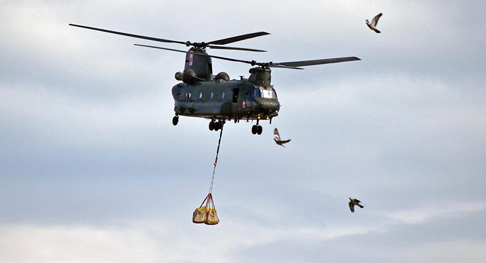 Elicottero delle Forze militari della Germania