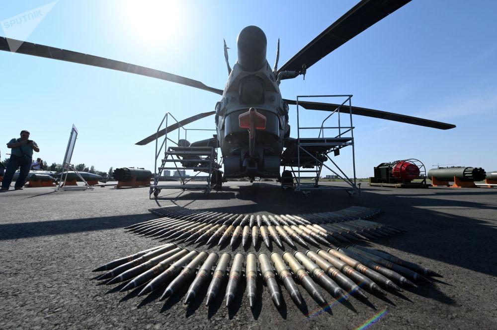 L'elicottero d'attacco Mil Mi-28NE Cacciatore Notturno