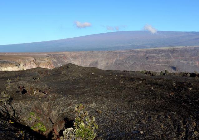 Vulcano Mauna Loa, isola Hawaii