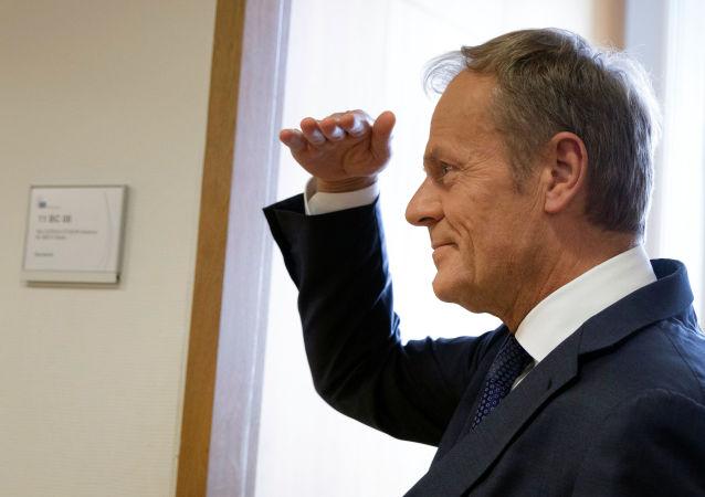 Il presidente del Consiglio europeo Donald Tusk