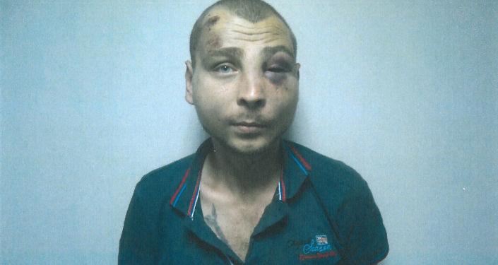 Un ex prigioniere del carcere a Mariupol