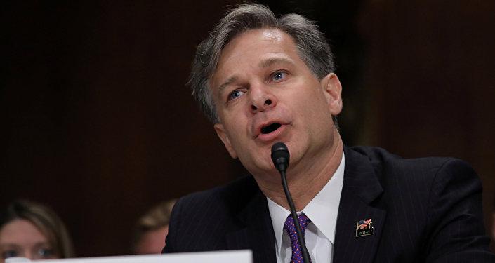Il direttore dell'Fbi Christopher Wray