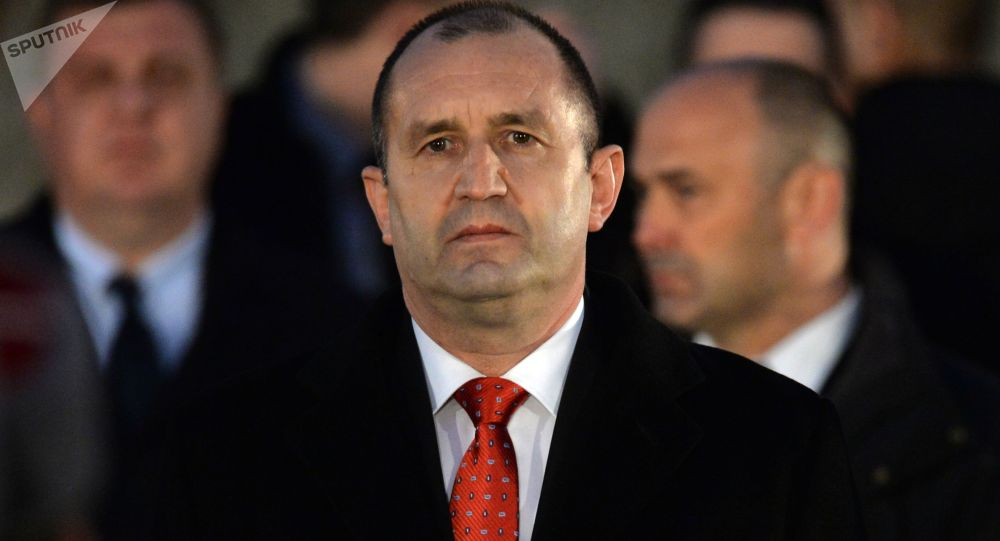 Il presidente della Bulgaria Ramen Radev