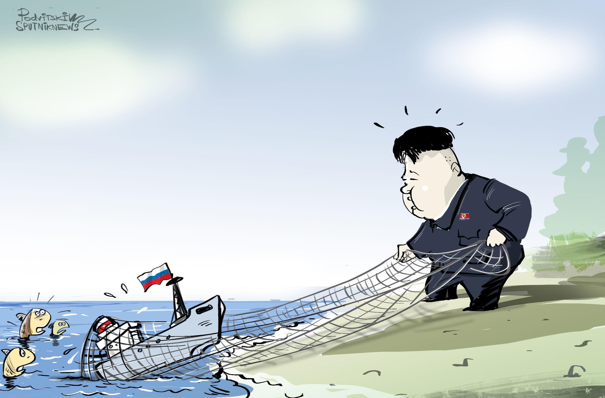Corea del Nord sequestra motopeschereccio russo