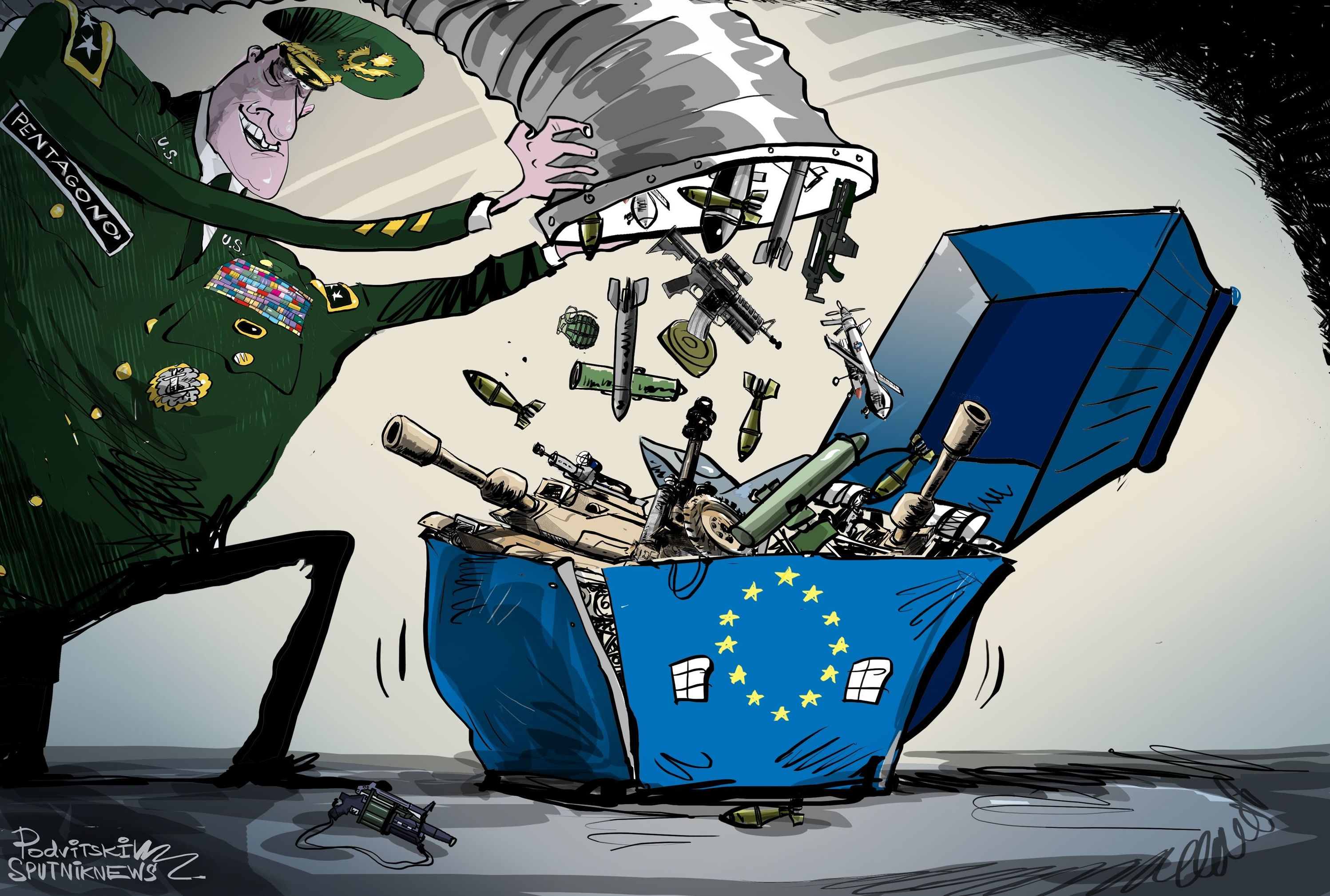 Il Pentagono prepara lo schieramento di truppe in Europa