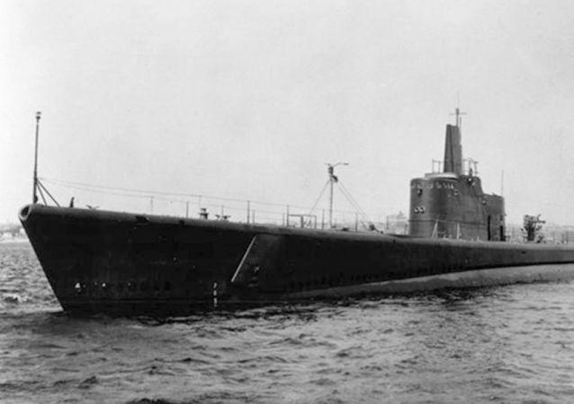 Il sottomarino statunitense USS Grunion, scomparso nelle acque del Pacifico durante la Seconda Guerra Mondiale