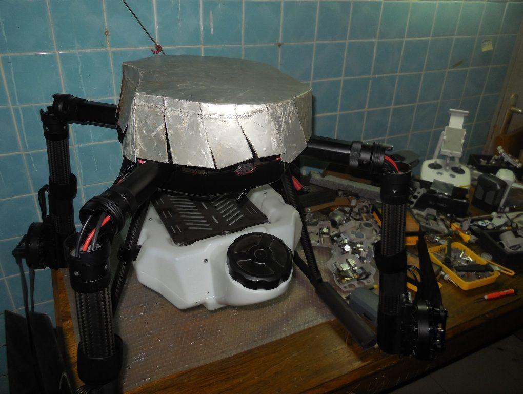 Prototipo del «Drone made in Senegal»