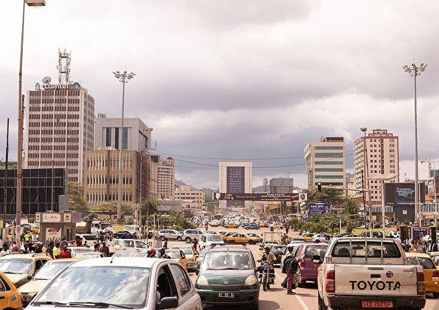 Skyline of Yaoundé