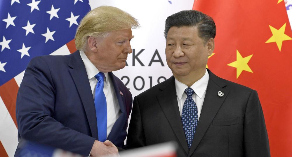 Il presidente Usa Donald Trump e il suo omologo cinese Xi Jinping