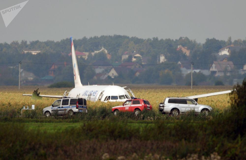 L'atterraggio d'emergenza dell'Airbus A-321 in un campo vicino all'aeroporto moscovita di Zhukovskiy a causa di un avaria dei motori causata da un evento di bird strike dopo il decollo: grazie alla maestria del pilota tutti i 200 passeggeri a bordo sono rimasti incolumi