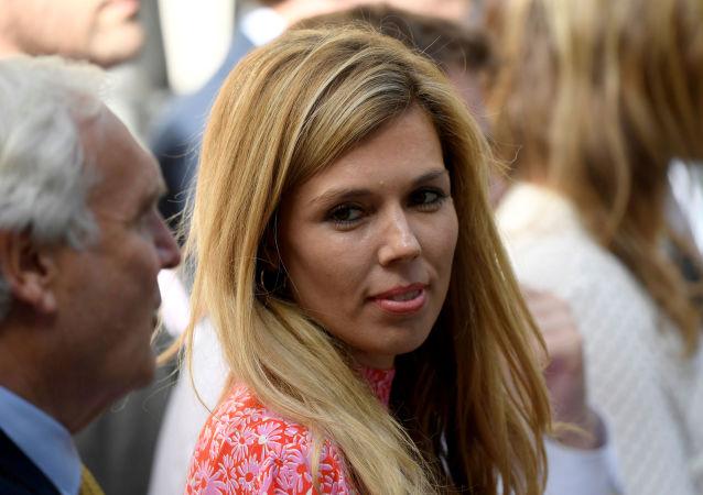 La fidanzata di Boris Johnson, Carrie Symonds