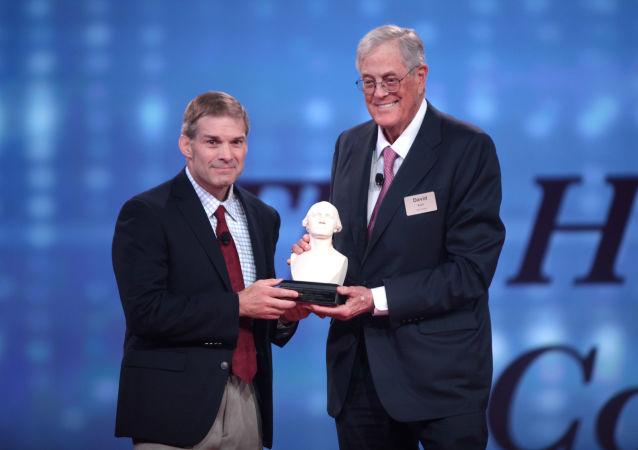 Jim Jordan e David Koch