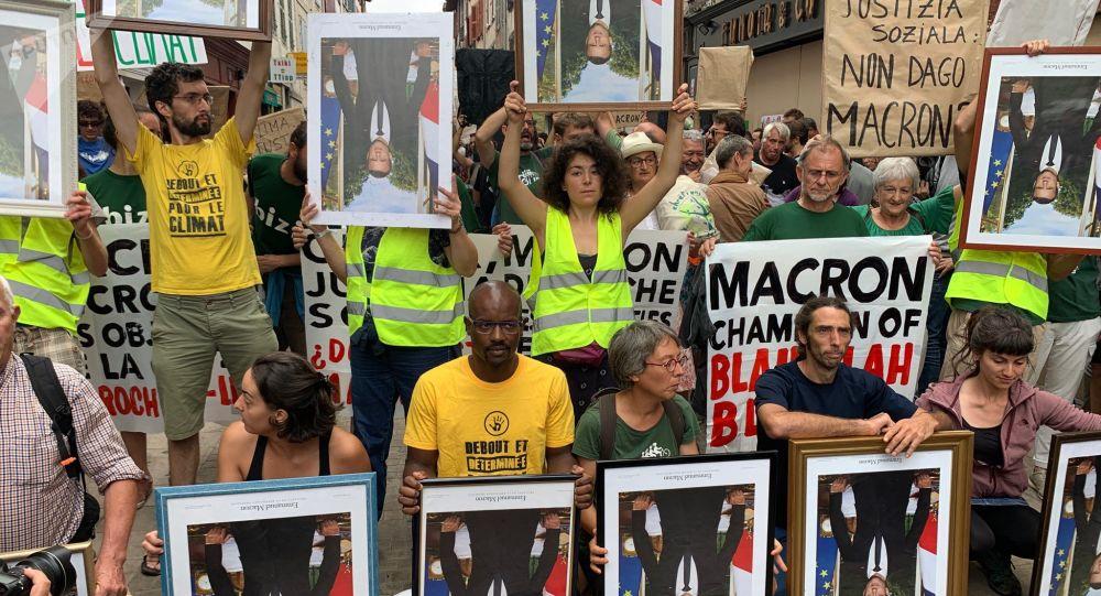 Marcia dei ritratti a Bayonne