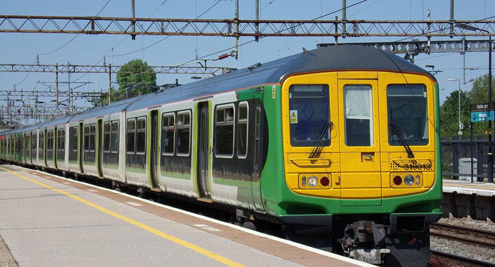 Treno in Gran Bretagna