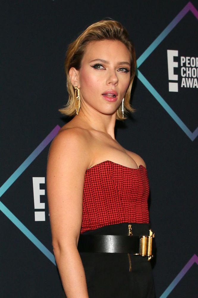 L'attrice Scarlett Johansson