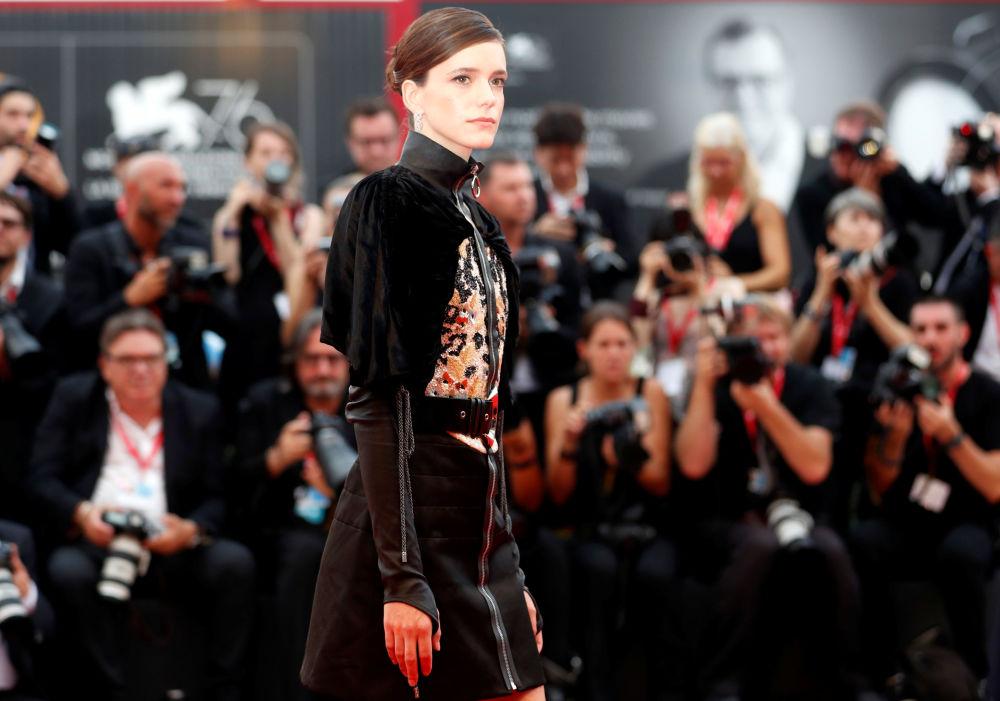 La nota attrice inglese Stacy Marti, che si è unita alla giuria del concorso principale quest'anno.