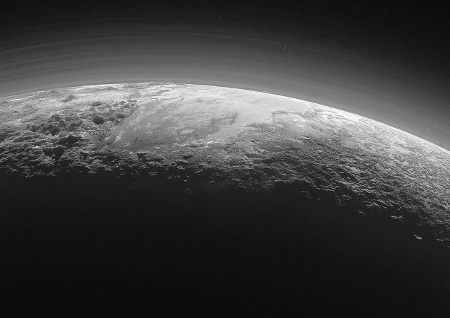 Plutone visto dalla sonda New Horizons
