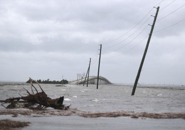 Le conseguenze dell'uragano Dorian